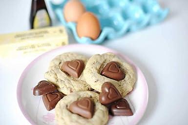 Madelaine – Mini corazones de chocolate de leche maciza ...