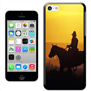 Fancy A Snuggle 'de Cowboy' carcasa rígida para Apple iPhone 5C