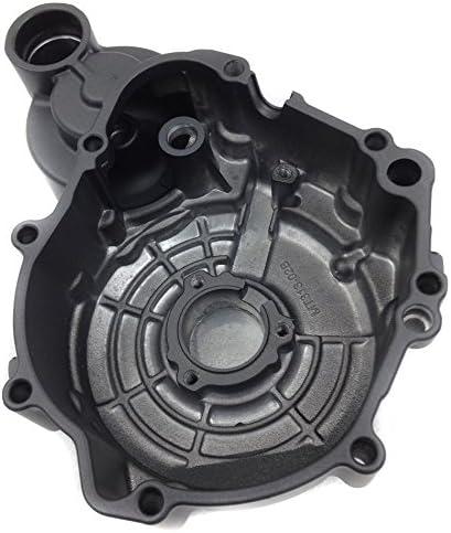 Compatible with Suzuki GSXR 600//750 2006-2013 Engine Stator cover BLACK Left HTTMT MT313-02B