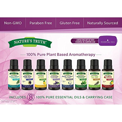 Aromatherapy Essential Oils (8-pack) by Natures Truth