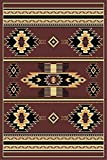 Brown 2 X 8 Runner Area Rug Southwestern Apache Native American Rug