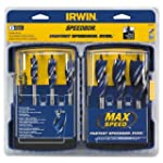 IRWIN SPEEDBOR Max Speed Bit Set, 6 P...