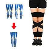 Leg Corrector Straps O/X Type Leg Correction Beauty Straighten Tape Bandage Adjustable Double Cross(S)