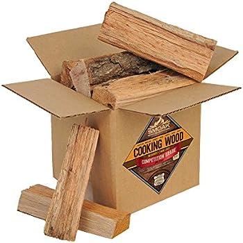 Smoak Firewood Cooking Wood Logs - USDA Certified Kiln Dried (Red Oak, 8-10 lbs)