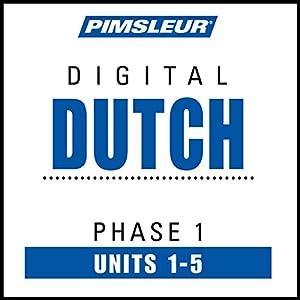 Dutch Phase 1, Unit 01-05 | Livre audio
