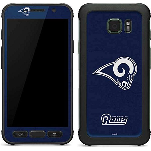 Skinit NFL Los Angeles Rams Galaxy S7 Active Skin - Los Angeles Rams Distressed Design - Ultra Thin, Lightweight Vinyl Decal Protection by Skinit
