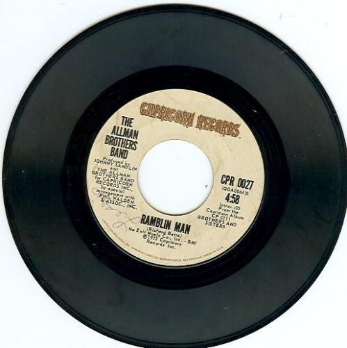 Man 45 Rpm Records (ramblin' man / pony boy 45 rpm single)