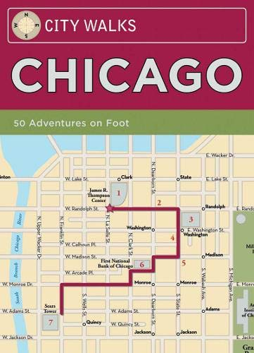 City Walks Deck: Chicago: 50 Adventures On Foot