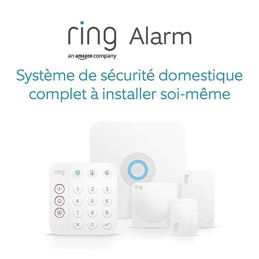Nouveau | Ring Alarm Kit 5 pièces (2e génération) par Amazon | Système de sécurité domestique avec surveillance assistée optionnelle...