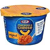 Kraft Easy Mac Original Flavor Macaroni & Cheese Dinner 2.05 Ounce Microwavable Cups (Pack of 10)
