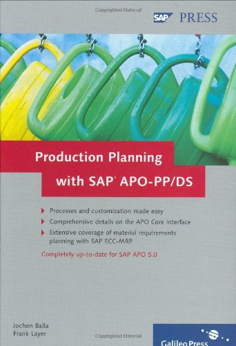 Production Planning with SAP APO-PP/DS - Mrp Software