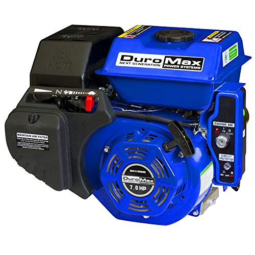 DuroMax XP7HPE 7 hp Electric/Recoil Start Engine (6 Hp Engine)