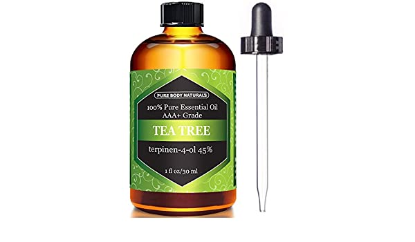 Amazon.com : Aceite De Arbol De Te Para Curar El Acne - Tratamiento Del Acne 100% Natural : Beauty