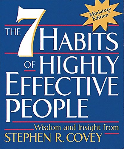 Workbook 7 habits of highly effective teenagers worksheets : The 7 Habits of Highly Effective People(Miniature Edition ...