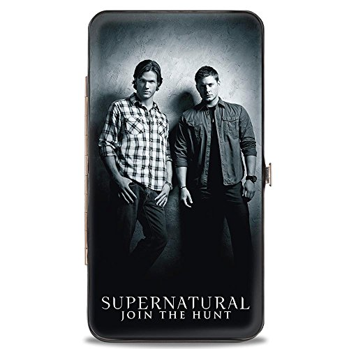 SUPERNATURAL Winchster Brothers Black/White - Hinged Wallet by Buckle Down