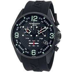 Torgoen Swiss Men's T18302 T18 Series Classic Black Aviation Watch