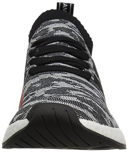 Adidas Originals Heren Nmd_r2 Pk Sneaker Zwart / Zwart / Wit