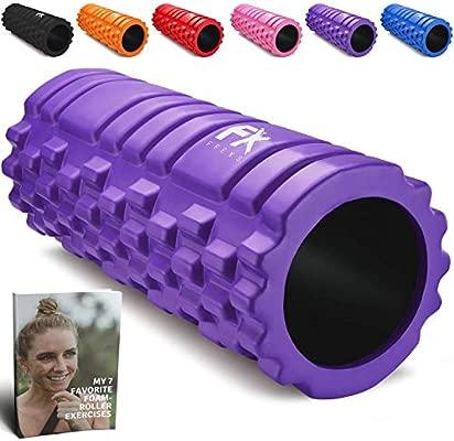 Foam Roller - Rodillo de Espuma para Terapia de Masaje – para Masajes Muscular Fitness Pilates Yoga - La Mejor Herramienta para Deportivo - Tejido ...