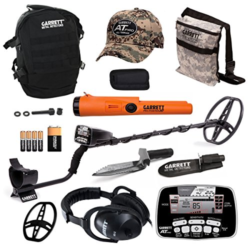 Garrett AT Pro Metal Detector Bonus Pack with ProPointer AT and Edge Digger