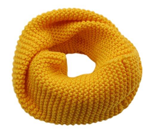CC-US Women Winter Infinity Scarf Knit Neckerchief Warm Circle Loop Shawl (Crochet Neck Scarf)