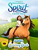 Spirit Riding Free Jumbo Coloring Book: Great Coloring Book for Kids and Any Fan of Spirit Riding Free (Perfect for Children Ages 4-12)