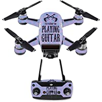 Skin for DJI Spark Mini Drone Combo - Playing Guitar  MightySkins Protective, Durable, and Unique Vinyl Decal wrap cover   Easy To Apply, Remove, and Change Styles   Made in the USA