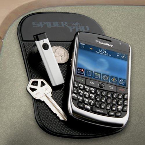 Black 10816 Hypercel SpiderPad Anti-Slip Mount for Mobile Phone