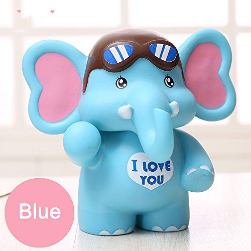 YOOKOON Elephant Piggy Bank Makes a Perfect Unique Gift Nursery Décor Keepsake Savings Piggy Bank for ()