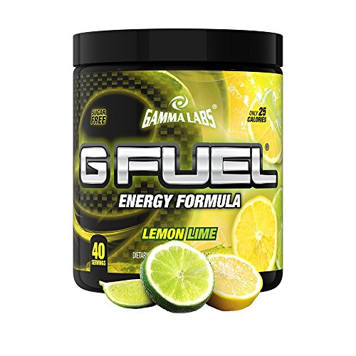 Gamma Enterprises G Fuel Nutrition Supplement, Lemon Lime, 40 servings, 280 g