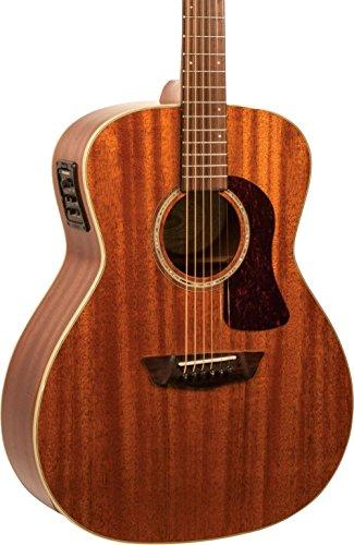 (Washburn HG120SWEK Heritage Series Grand Auditorium Acoustic-Electric Guitar Natural)