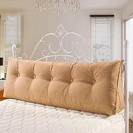 Amazon.com: Cojín triangular para cabecero de cama de color ...