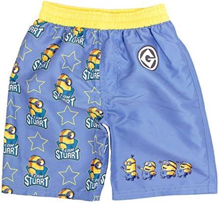 水着 男の子 海パン ミニオンズ サーフトランクス 海水パンツ サーフパンツ キッズ 子供