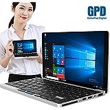 GPD Pocket By XAMMBOX 7 Touch Screen Mini Laptop UMPC NoteBook Windows 10 Ultra Mobile PC Aluminum Shell Tablet PC Quad-Core Intel Z8750, RAM 8 GB DDR3, Wi-Fi Dual Band AC, Bluetooth 4.1