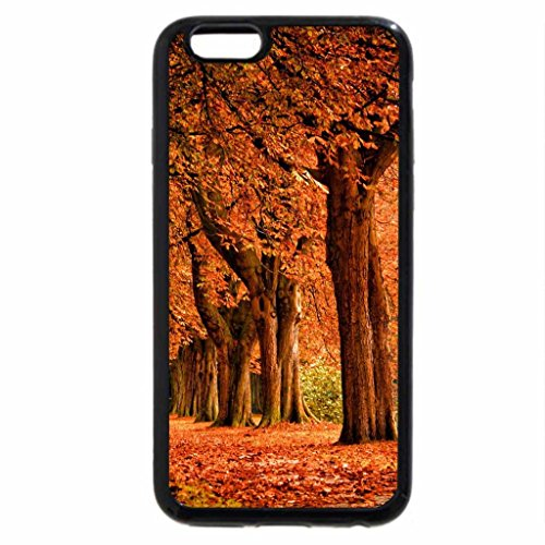 iPhone 6S Case, iPhone 6 Case (Black & White) - Autumn at Jasper National Park