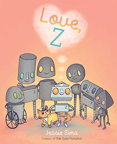 Love, Z by [Sima, Jessie]