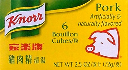 Knorr Pork Bouillon Cubes 22 Oz  3 Pack