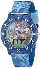Nickelodeon Kids' PAW4000 Paw Patrol Digital Display Quartz Multi-Color Watch
