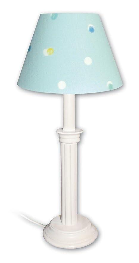 Abeja luces de mesa Buci turquesa 1-lámpara de techo.: Amazon.es ...