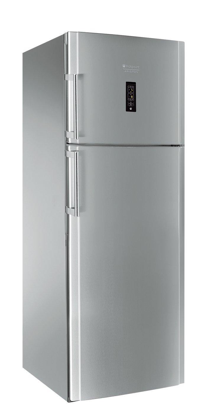Hotpoint ENXTYH 19322 FWL Freestanding 456L A++ Stainless Steel  Fridge Freezer   Fridge Freezers (456 L, N T, 5 Kg/24h, A++, Fresh Zone  Compartment, ...