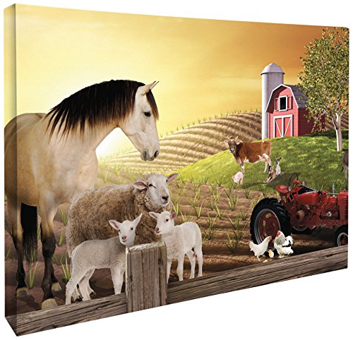 JP London CNV2006 Gallery Wrap Heavyweig - Barnyard Wall Art Shopping Results