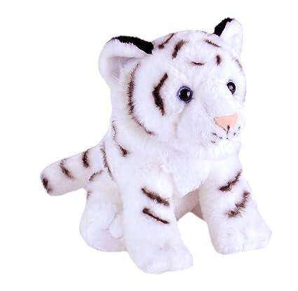 Amazon Com Wild Republic White Tiger Cub Plush Stuffed Animal