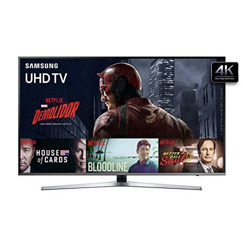 Smart Tv 4k Samsung Flat 49ku6400, 49, Ultra Hd, Quad-core, 3 Hdmi, 2 Usb, Wi-fi Integrado