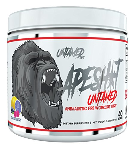 Ape Shit Pre Workout Supplement By Untamed Labs | Energy, Pump, Endurance (SmashBerry) by Primeval Labs