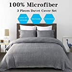 Vanansa-Microfiber-Duvet-Cover-Set-Ultra-Soft-and-Easy-Care-3-Piece-Bedding-Set-with-Button-Closure-Dark-Grey-Full