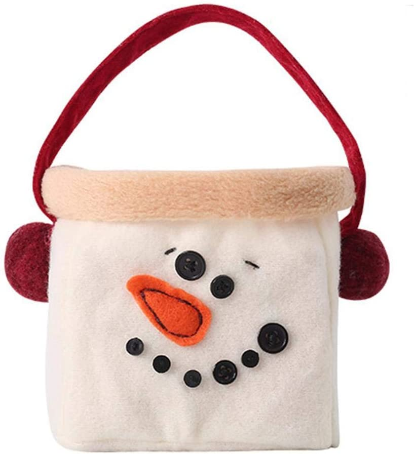 Drawstring Backpack Holiday Trees Orange Xmas Christmas Shoulder Bags