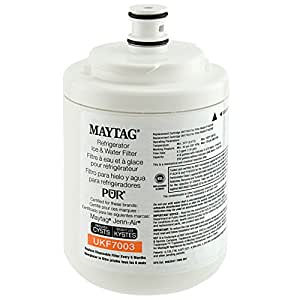 Maytag UKF7003 PUR PuriClean Cyst-Reducing Refrigerator Water Filter, 1-Pack