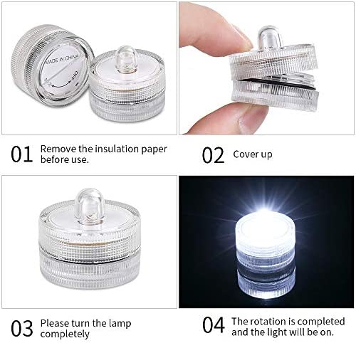 tools, home improvement, lighting, ceiling fans, novelty lighting,  flameless candles 2 picture JINHEZO Realistic and Bright Battery Light, Party Waterproof deals