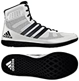 Adidas Mat Wizard Wrestling Shoes White/Black Size 7.5