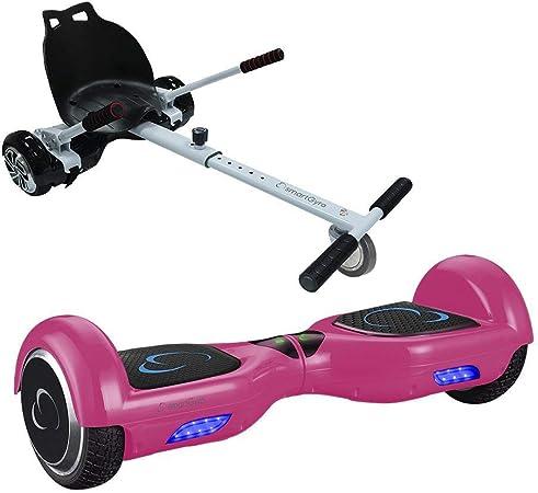 Pack SmartGyro X1s Pink + Go Kart - Ruedas 6.5