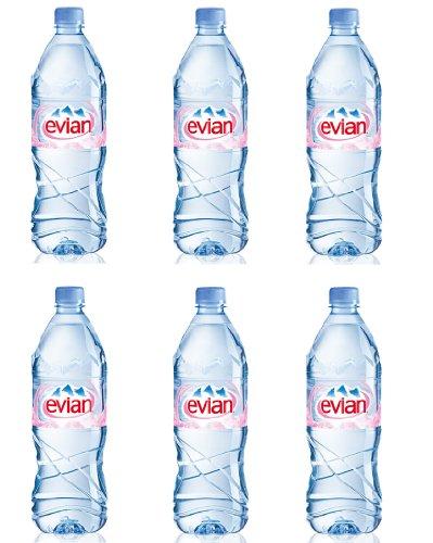 1 liter evian bottle - 5 7